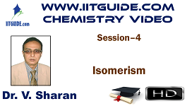 IIT JEE Main Advanced Coaching Online Class Video Chemistry – Isomerism
