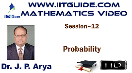 IIT JEE Main Advanced Coaching Online Class Video Math - Probability
