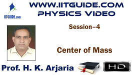 IIT JEE Main Advanced Coaching Online Class Video Physics - Center Of Mass