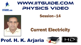 IIT JEE Main Advanced Coaching Online Class Video Physics - Current Electricity