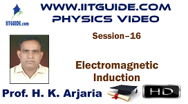 IIT JEE Main Advanced Coaching Online Class Video Physics - Electromagnetic Induction
