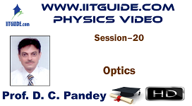 IIT JEE Main Advanced Coaching Online Class Video Physics - Optics
