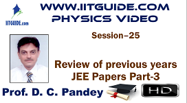 IIT JEE Main Advanced Coaching Online Class Video Physics - previous years IIT-JEE  Papers 3