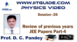 IIT JEE Main Advanced Coaching Online Class Video Physics - previous years IIT-JEE  Papers 4