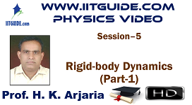 IIT JEE Main Advanced Coaching Online Class Video Physics - Rigid Body Dynamics 1