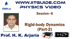 IIT JEE Main Advanced Coaching Online Class Video Physics - Rigid Body Dynamics 2